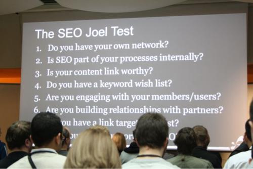 SEO Joel Test