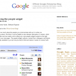 Official Google Enterprise Blog- Introducing the people widget