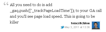Adding PageLoadTime to a WP Blog