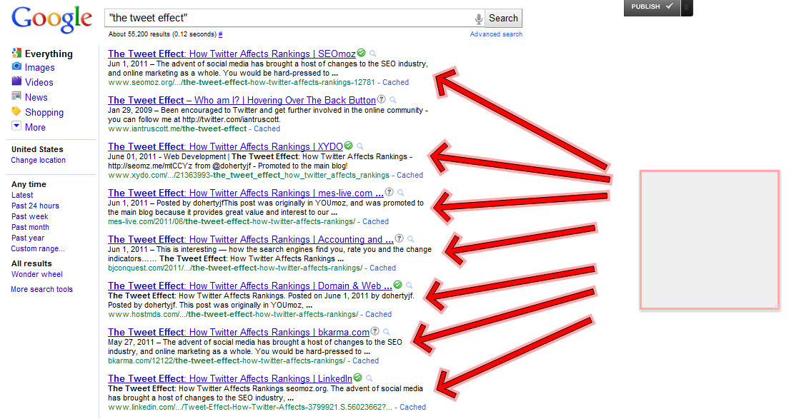 Using Scraper Sites to Build Links