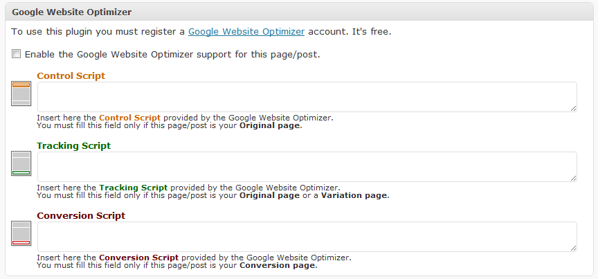 How to Use Google Website Optimizer with WordPress