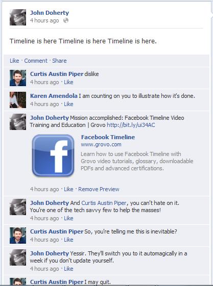 Facebook's Timeline Goes Live [Video]