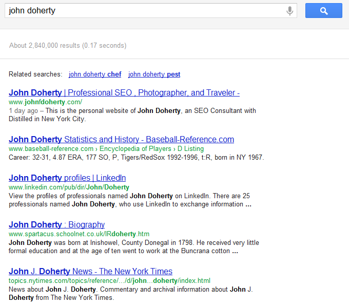Google's Search+ Your World Personalized Hides Local Results
