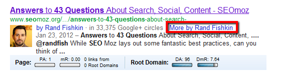 Google's Hidden Author Search (plus Bookmarklet and Video)
