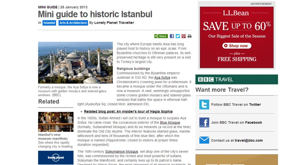 istanbul mini guide bbc