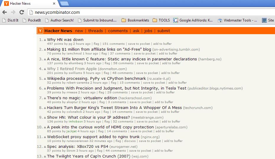 """HackerNews Should Implement Target=""""_blank"""""""