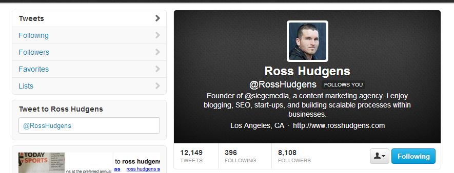 ross hudgens twitter