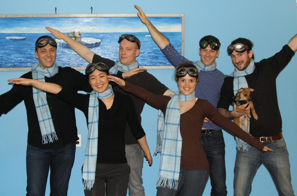 Team NYC Turned Hipmunks
