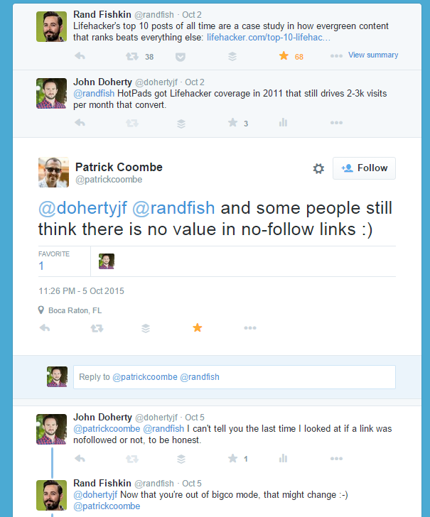 "Do You Still Take ""Nofollow"" Links Into Consideration For SEO?"