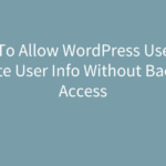 wordpress-user-frontend-update