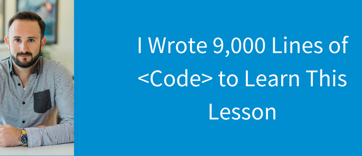I wrote 9000 new lines of code to learn this