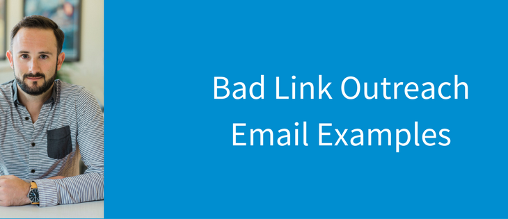 Examples of bad outreach emails