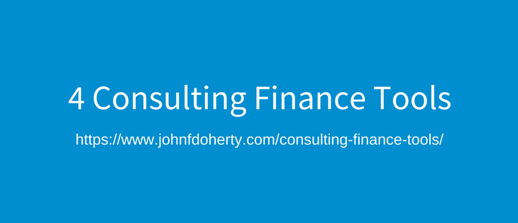 4 tools I use to manage my consulting and business finances