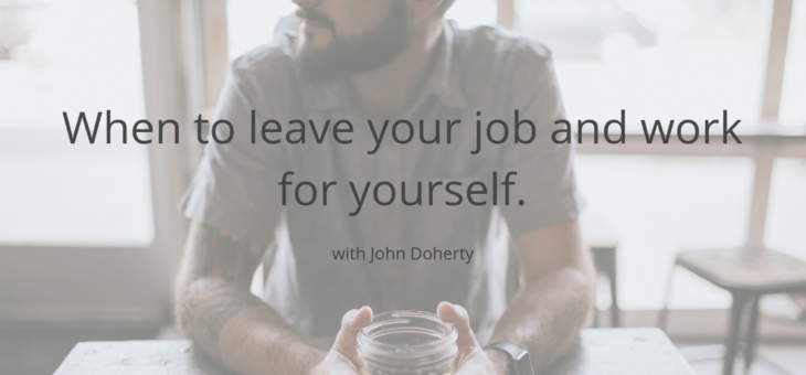 How to leave your job to go freelance